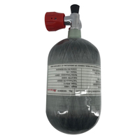 AC5020 Acecare 2L 30Mpa HPA Compressed Air Tank For Shooting Targets/Hunting PCP Paintball Carbon Fiber Cylinder With Red Valve