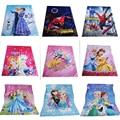 Простыня с мультяшным изображением Человека-паука принцессы Mc королевы автомобилей 150x200 см для мальчиков девочек декор для детской спальни...