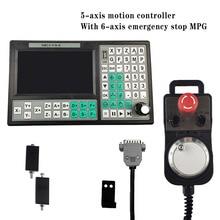 Usb-Controller Handwheel 6-Axis SMC5-5-N-N Offline Large-Screen G-Code Mach3 500khz MPG