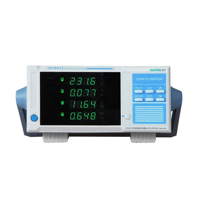 PF9811 digital power meter intelligent power tester electrical parameter measuring instrument