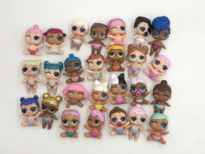 LOL lil doll 100% Original L.O.L. Surprise LIL sister doll Various rare styles Unicorn lil doll Can change color gift for girs(China)