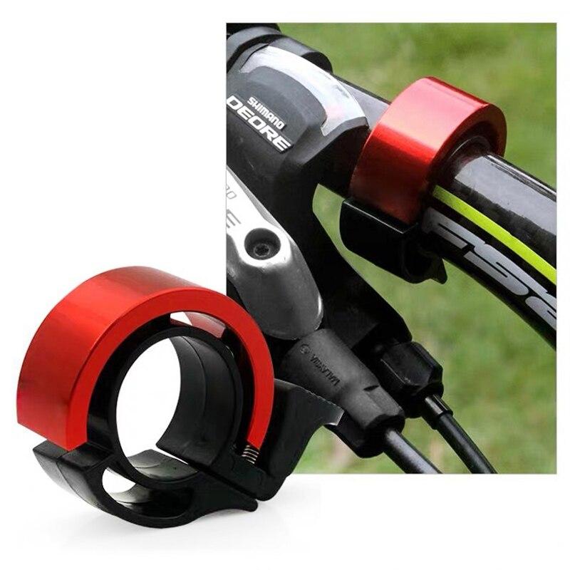 Cloche de vélo anneau guidon anneau en métal accessoires de vélo corne alarme sonore en vrac vélo cloche vélo sirène nouveauté vélo cloche