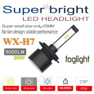 WX-H7 Car LED Headlight Bulbs