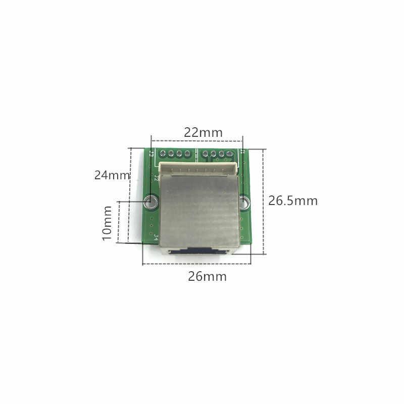 Switch Gigabit modulo è ampiamente usato in LED linea 3/4 porte 10/100/1000m di contattare porta mini modulo switch PCBA