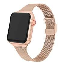 Металлический ремешок для apple watch 5 3 band 44 мм 42 38 40