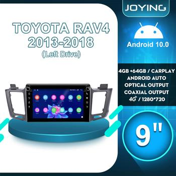 JOYING Android 10 Car Radio Stereo Autoradio GPS Multimedia Audio Carplay For TOYOTA RAV4 RAV 4 2013 2014 2015 2016 2017 2018 image