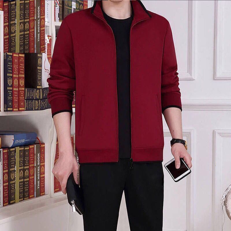 2019 Autumn And Winter New Products Middle-aged Warm Hoodie 2 Pieces Loose And Plus-sized Leisure Suit Shrink Resistant Non-Fadi