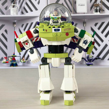 243pcs A Buzz Lightyear Mech Robots SY941 Super Heroes Construct Figure Building Blocks Toys For Children