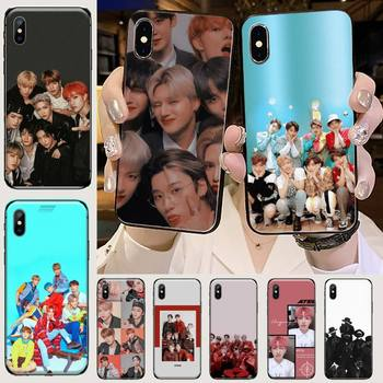 Чехол для телефона Kpop ATEEZ HongJoong для iPhone 11 12 mini pro XS MAX 8 7 6 6S Plus X 5S SE 2020 XR image