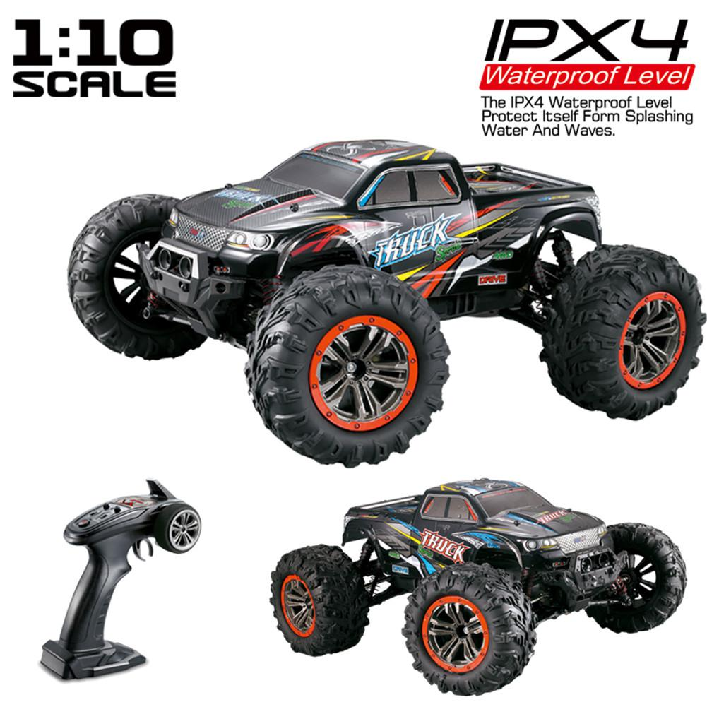XINLEHONG TOYS RC Car 9125 2.4G 1:10 1/10 Scale Racing Cars Car Supersonic Monster Truck Off-Road Vehicle Buggy Electronic Toy image