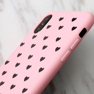 Image 2 - KISSCASE mode amour coeur étui pour huawei P20 P10 Lite Pro Mate 20 10 P Smart dur PC coques de téléphone pour Honor 9 10 Lite 8X couverture