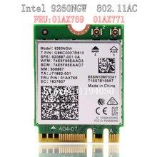 Intel Беспроводная AC 9260 NGW WiFi Bluetooth карта WiFi Bluetooth 5,0 адаптер беспроводная сетевая карта PCIE WiFi адаптер PCIE WiFi adap