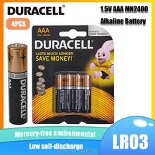 Alkaline-Battery Mouse LR03 Electric Duracell Original Flashlight AAA for Toys Toothbrush