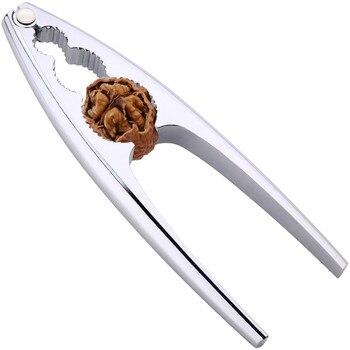 Creative Food-pinza Manual de acero inoxidable de nogal, 3 agujeros, para cocina,...