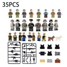 35pcs Military Theme Series Doll Building Blocks For Most Mainstream In The Market