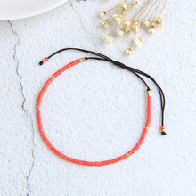 C.QUAN.CHI Woven Braided Strand Bracelets Handmade Miyuki Seed Beaded String Wrap Bracelets Cuff Bangles New Friendship Bangle woven artificial leather beaded friendship bracelets set