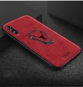Image 3 - Funda magnética para Samsung Galaxy S20 Ultra FE Note 20 10 5G S10 Plus S9 S8 A30 A50 A70 A80 A90 A51 A71, funda con soporte de tela