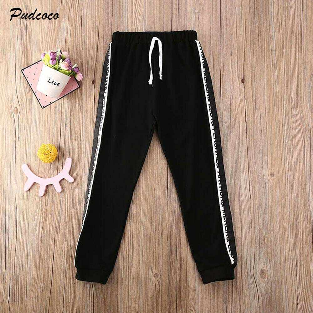 Kids Toddler Sports Sweatpants Harem Pants Casual Trousers Leggings Joggers HOT
