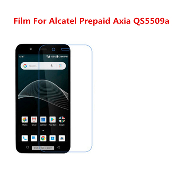 1/2/5/10 Pcs Ultra Thin Clear HD LCD Screen Protector Film With Cleaning Cloth Film For Alcatel Prepaid Axia QS5509a. image