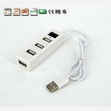 Быстрый 4 USB концентратор больше зарядки USB удлинитель Кабель с переходником для зарядного устройства с переключателем линии, чем разветвитель зарядный кабель