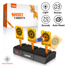 NIGOE Electronic Digital Shooting Target Scoring Auto Reset Target with Light Sound Effect Outdoor Indoor Sports Toy Educational