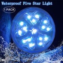 Плавающий подводный светильник rgb погружной светодиодный для