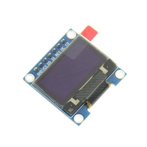 0.96 Inch I2C SPI Serial 128X64 OLED LCD LED Display Module SSD1306 for Arduino Kit White Display