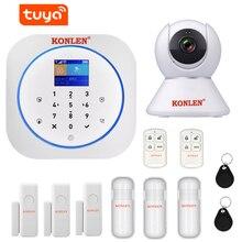 Alarm-System Camera Burglar Home-Kit Security Smart Google House Tuya Anti-Theft-App