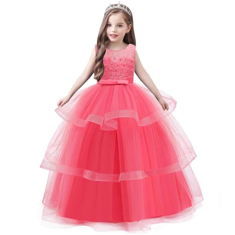 12 Winter Mädchen Kleid Kinder Kleider Für Mädchen Abend Party Elegante  Prinzessin Kleid Hochzeit Kleid Kinder Kleidung 12 12 12 jahre
