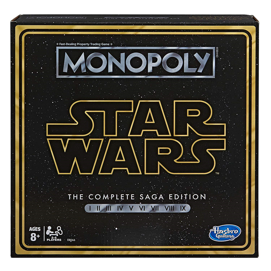 Hasbro Monopoly Star Wars Complete Saga Board Game Toy Card Game Kid Toy Gift Board role-playing games