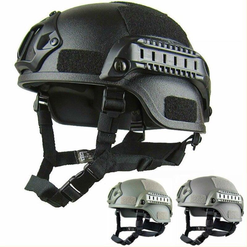 Легкий тактический шлем рельса версия действия MICH2000 езда CS шлем SWAT езда защитное оборудование