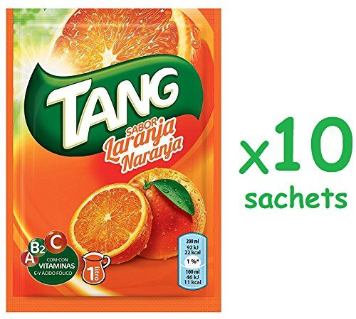 Cmagic® Tang Orange - 10 Bustine Da 30 G, 10 Litri, Con Vitamine A B2 C E Acido Folico