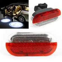 1pcs Car Door Panel Interior Warning Light Lamp For For 1998-2005 VW Bora Golf 4 MK4 Polo Jetta Car LED Light Strobe Lights