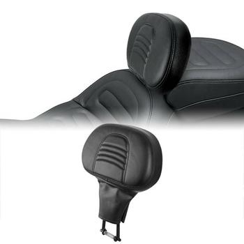 Motorcycle Driver Rider Backrest Pad For Harley Touring Road King Street Glide Electra Glide 2009-2020