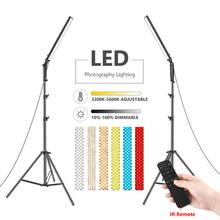 Video-Light Neewer Stand 3200-5600k-Light Remote-Control LED Dimmable Photography 210