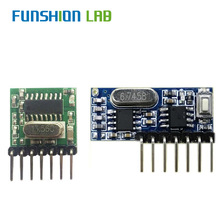 FUNSHION 433mhz Wireless Wide Voltage Coding Transmitter + D