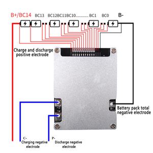 Image 3 - BMS 10S 12S 13S 14S 16S 30A 40A 50A 60A 100A 48V 60V 18650 Li ion Pin Lithium Ban Bảo Vệ BMS Mạch Cân Bằng Module