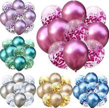 5 sztuk lateksowe balony + 5 sztuk cekiny balon lot 12 cal mieszane kolor balony strona dekoracji dzieci dorosłych dekoracja na urodziny SN3617 tanie tanio szlinxikeji CN (pochodzenie) ROUND Ślub i Zaręczyny Chrzest chrzciny Wielkie wydarzenie przyjęcie urodzinowe Na Dzień Dziecka