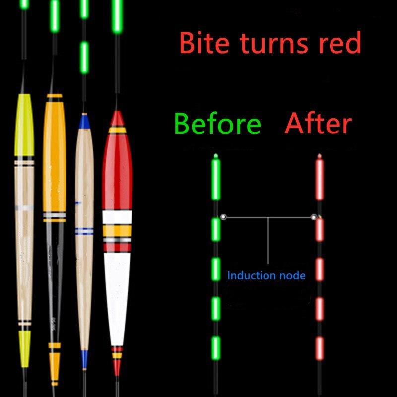 Умный светящийся поплавок, светодиодный поплавок для рыбалки, USB зарядное устройство, перезаряжаемый рыбий укус, автоматически напоминающий изменение цвета, ночной рыбацкий буй| |   | АлиЭкспресс