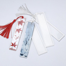 Mold Jewelry-Tool Transparent-Mold Epoxy-Resin Rectangle-Making Diy-Craft Silicone 1PCS