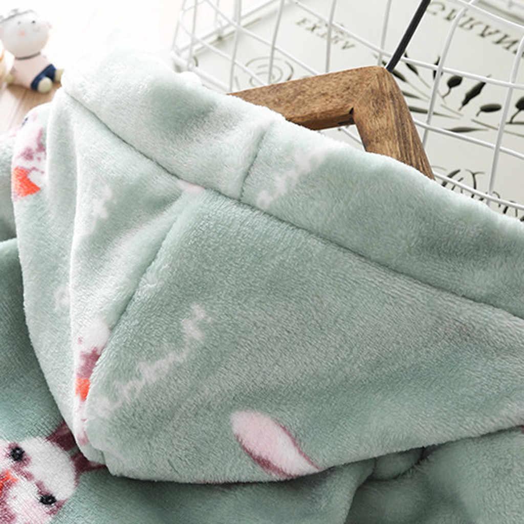Bata de franela de dibujos animados para niños, albornoz de bebé, niño, niña, toalla con capucha, ropa de dormir, ropa de dormir para Niños #105