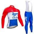 Зима 2020 команда ROOMPOT длинные велосипедные Джерси 20D Pad велосипедные штаны костюм Ropa Ciclismo Мужские Термо флис pro велосипедная одежда