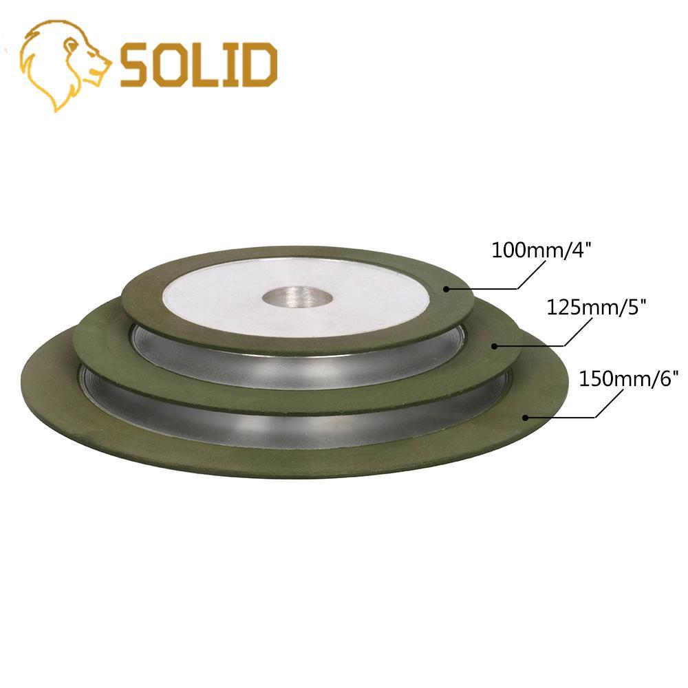 Diamond Grinding Disc Sharpening For Tungsten Steel Milling Cutter Sharpener 100/125/150mm 150-320# 1Pc