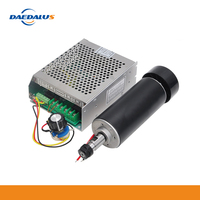 Daedalus 500W Spindle Motor CNC Air Cooled Spindle ER11 12000RPM Power Supply Mach3 110/220V For Milling Lathe Engraving Machine