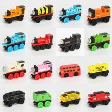 Деревянный магнитный поезд Thomas and Friends, игрушка Томас Джеймс Гордон Генри Перси Дуглас Эдвард, деревянный поезд, детская игрушка, подарок