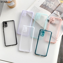 Shockproof Matte Silicone Phone Case For Samsung Galaxy A51 A71 A42 A12 A21s A31 A11