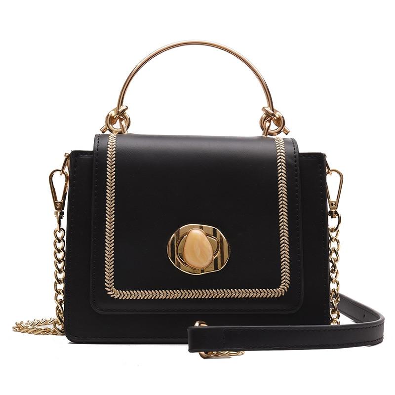 Fashion Chain Women Crossbody Bags Solid Color Women Bags Women Handbags Casual Shoulder Messenger Bags For Women Party Clutch