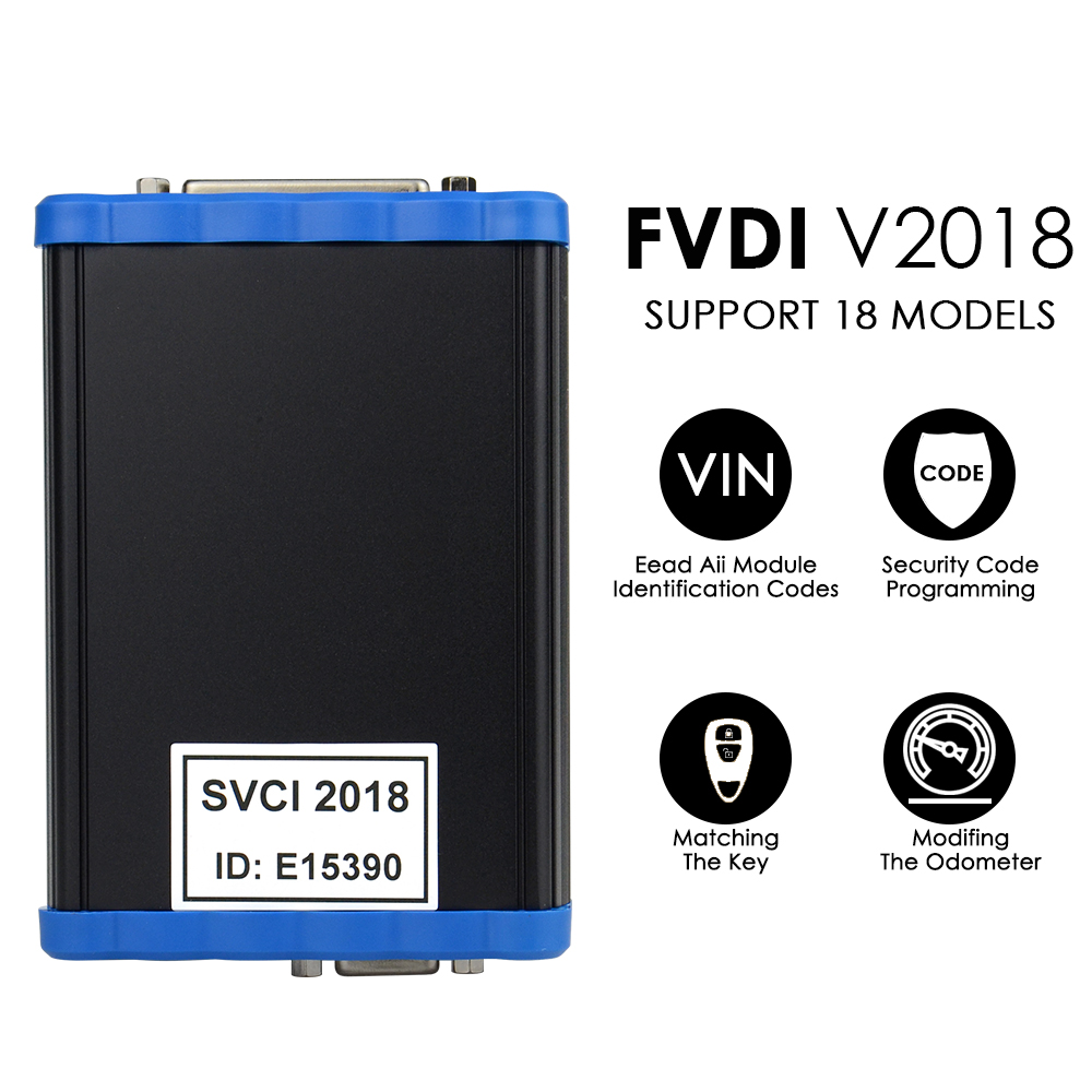 Image 2 - FVDI V2018/2015/2014 Original SVCI 2018  FVDI ABRITES Commander Full Version 18 Software FVDI Key Learning/Mileage correction-in Auto Key Programmers from Automobiles & Motorcycles