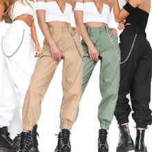 New Fashion Camo Sweatpants Hip Hop Joggers Dance Pants Harajuku Style Casual Long Pants Women Cargo Trousers