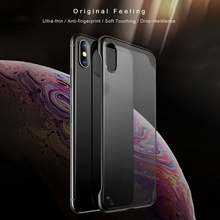 Transparent Matte Hard PC Phone Case Cover for iPhone XS Max XR X 6 7 8 Plus Back Cover with Lanyard For iphone X XR XS Max цена и фото